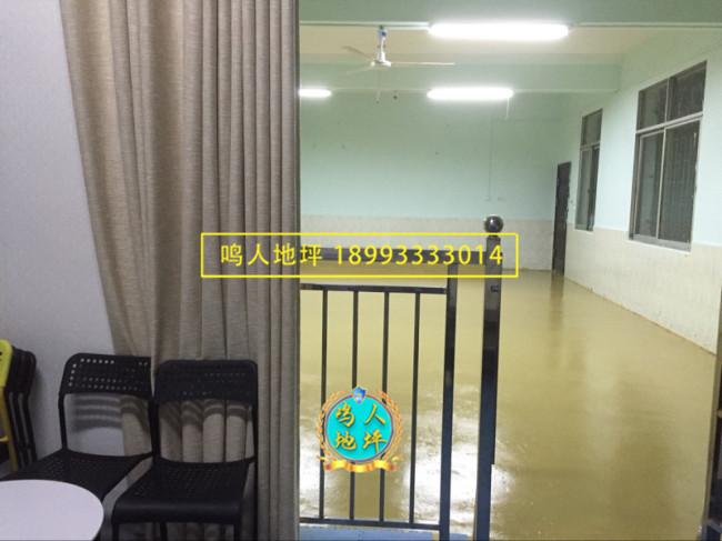 兰州家装客厅环氧地坪施工案例