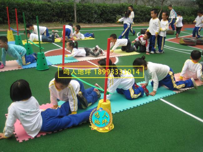 陇南幼儿园人造草坪施工案例
